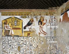 Egyptian Thebes | Valley of the Queens Egypt | Egypt Thebes Luxor ... | Ancient Egypt