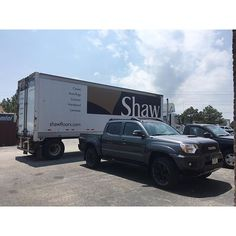 Delivery!  #shaw #shawfloors #greatness