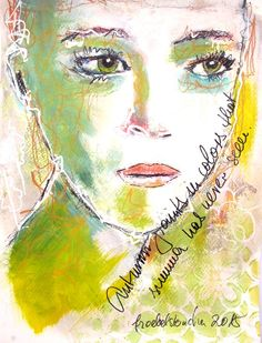 froebelsternchen: Autumn paints in colors ...FACE NO 49 of 49