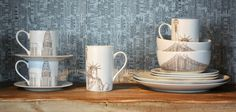 House of Fraser autumn-winter 2012 home collection | New York Crockery