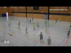 Handballtraining (11/12 Jahre) (Schwerpunkt: Abwehr) - YouTube