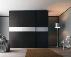 Modern Contemporary Sliding Doors Wardrobe – Interior Design, Design News and Architecture Trends Wardrobe Interior Design, Wardrobe Design Bedroom, Modern Wardrobe, Armoire Design, Bedroom Cupboard Designs, Fitted Bedroom Furniture, Home Decor Furniture, Furniture Ideas, Sliding Door Wardrobe Designs