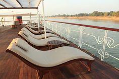 RV Jayavarman Cruise sundeck