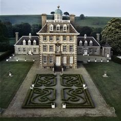 beautiful manor house