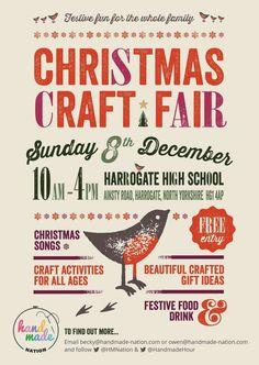 Graphic Design, Ideas Szukaj, Holiday Market, Christmas Posters ...