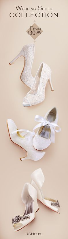 JJsHouse wedding shoes collection. #jjshouse