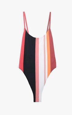 Alix Delano one-piece swimsuit, $198.