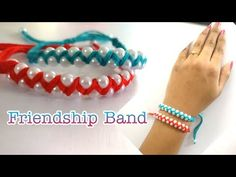 How To Make Friendship band | DIY | Handmade Band | Friendship Band - YouTube