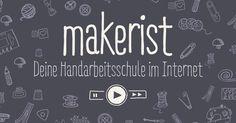 makerist ist deine Handarbeitsschule im Internet. Lerne hier in professionellen Videokursen Nähen und Stricken und finde das passende Material!