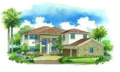 The Chapel Hill Model - Lennar Homes Bridgewater at Lakewood Ranch