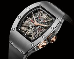 In honor of 11 years in business, Richard Mille has produced a stunning haute horology wristwatch called RM 037