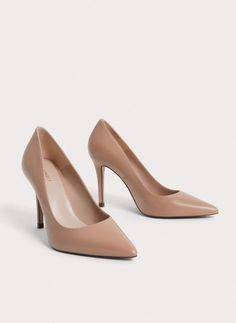 Uterqüe United Arab Emirates Product Page - Footwear - View all - Leather high heel shoes - 550