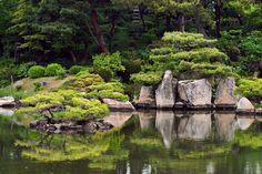 Shukkeien Garden, Hiroshima, Japan