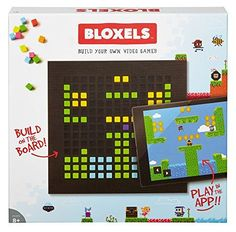 Shop Mattel Games Bloxels Build Your Own Video Game, x x cm. Free delivery and returns on eligible orders of or more. Terra Formars, Tween Boy Gifts, Gifts For Boys, Mom Gifts, Star Citizen, Engineering Toys For Girls, Creating Games, 12 Year Old Boy, Video Game Reviews