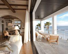Indoor Outdoor | Beach House | Home Design | Outdoor | Patio | Living