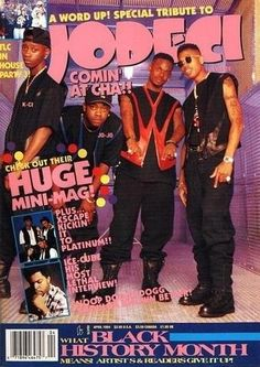 Word Up magazine! This one has Jodeci, one of my favorite groups! Great magazine!