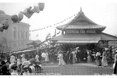 The picture of 1915 Formosa Tea House at Panama Pacific International Exposition, San Francisco, U.S.A.
