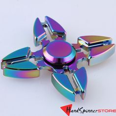 4 Corners 2//3//4 Corners New Hands Spinner Metal Bearing Stress Relief Toy Gold Finger Gyroscope Hands Spinner Toy