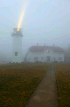 Chatham Lighthouse In Action. www.seaportvillagerealty.com