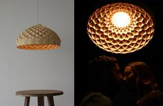 Wood Veneer Pendant Light With Woven Bamboo Lighting By Edward Linacre And 8 2 On Category with wood veneer modern pendant lights, wood veneer pendant light, wood veneer pendant lighting. Added on October 2017 on Lightings and Lamps Ideas – jmaxmedia. Wood Pendant Light, Pendant Light Fixtures, Pendant Lamp, Pendant Lighting, Bamboo Lamp, Lantern Designs, Cool House Designs, Wood Veneer, Lamp Design