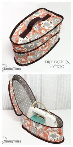 Small Sewing Projects, Sewing Projects For Beginners, Sewing Hacks, Sewing Tutorials, Sewing Crafts, Sewing Tips, Bag Patterns To Sew, Sewing Patterns Free, Free Sewing