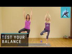 Test your balance, 30/30 Yoga Challenge, with Esther Ekhart - YouTube