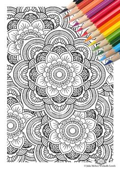 Adult Coloring Page Printable Guitar Pages Music Poster Instant Download By Juleez