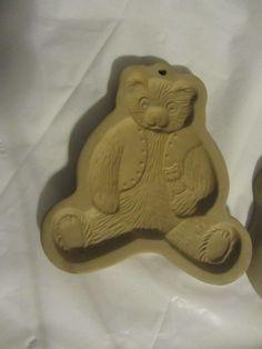 Vintage 1984 Brown Bag Cookie Art Teddy Bear Cookie Mold,Candy Mold, Candlemold #brownbag#cookiemold#teddybear