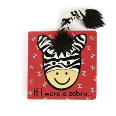 Jellycat If I Were a Zebra Board Book