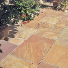bradstone paving bradstone natural sandstone paving modac patio pack m2 per