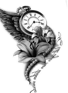 New tattoo sleeve clock quotes ideas – tattoos for women half sleeve Shoulder Sleeve Tattoos, Tattoos For Women Half Sleeve, Shoulder Tattoos For Women, Best Sleeve Tattoos, Time Clock Tattoo, Clock Tattoo Sleeve, Time Piece Tattoo, Tattoo Sleeves, Ankle Tattoo Designs