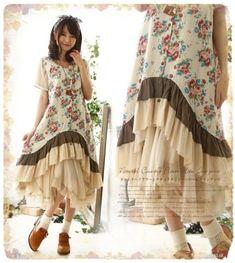 Lolita-Mori-Girl-Sweet-Vest-Dress-Retro-Embroidery-Cotton-Loose-Sleeveless-Dress