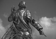 Amazing Figurative Sculptures Welded from Steel Scraps - My Modern Metropolis - Jordi Diez Fernandez