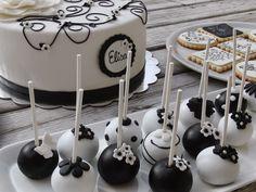 mesas dulces en color blanco y negro - Buscar con Google