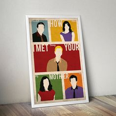 How I Met Your Mother poster alternative by TheCelluloidAndroid