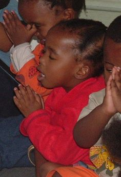 Pray with the heart of a child