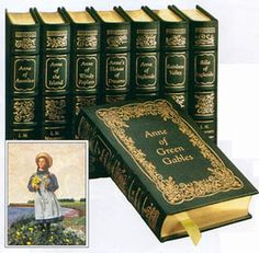 Anne of Green Gables/Anne of Avenlea/Anne of the Island/ Anne of Windy Poplars/Anne's House of Dreams/Anne of Ingleside/ Rainbow Valley/ Rilla of Ingleside by L.M. Montegomery