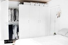 Soveværelse: Før og efter