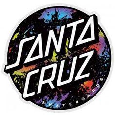 Santa Cruz Stickers, Santa Cruz Logo, Skateboards, Skateboard Ramps, Hand Sticker, One Piece Drawing, Mission Viejo, Backrounds, Stickers