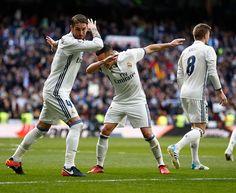 Sergio Ramos. Real Madrid - Malaga