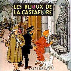 Les Aventures de Tintin - Album Imaginaire - Les Bijoux de la Castafiore