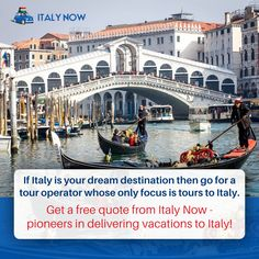 Italy Travel Packages, Italy Tour Packages, Italy Tours, Tour Operator, Italy Vacation, Dreaming Of You, Vacations, Boat, Quote