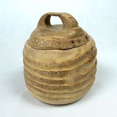 Bamboo Root Canister $65