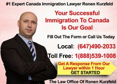 Welcome to Ronen Kurzfeld Immigration Lawyer Toronto � #1 Immigration Law Firm in Toronto, Ontario