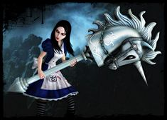 Photo of alice liddell arts for fans of American McGee's Alice.