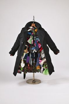Charles LeDray (b. 1960), Overcoat, 2004. Fabric, wood, metal, paint, plastic, and thread, 25 × 20 × 11 in. (64.8 × 50.8 × 27.9 cm). Collection of Tom and Alice Tisch, New York. Photograph by Tom Powel. Courtesy of Sperone Westwater