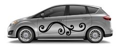 Car Side Vinyl Sticker Graphics Abstract Design Floral Pattern A1488 by VSgraphics llc, http://www.amazon.com/dp/B008ABT62O/ref=cm_sw_r_pi_dp_VJWwsb0R5RRAS