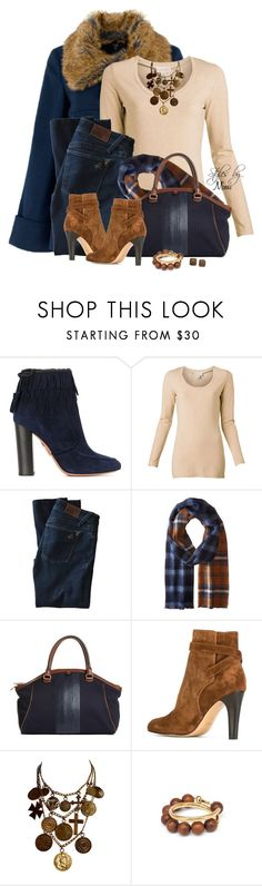 """""""Coins & Crosses (2.15.17)"""" by stylesbymimi ❤ liked on Polyvore featuring Aquazzura, Witchery, DL1961 Premium Denim, Pendleton, Brooks Brothers, Michel Vivien, Yves Saint Laurent and Marni"""