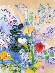 Raoul Dufy, Le Bouquet d'Arum, 1939