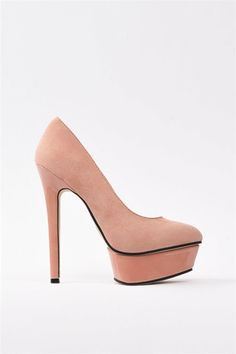 Chloe Pumps - Blush//